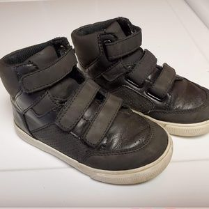 Gap Classic Toddler Hi-Top Velcro Sneakers sz 8